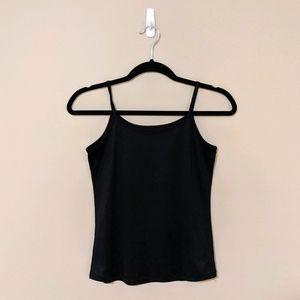 💕 2/$15 💕 Black Silk Tank